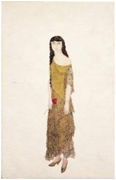《アンナ・ド・ノアイユの肖像》1926年 油彩・カンヴァス 167.1×108.4cm DIC川村記念美術館蔵